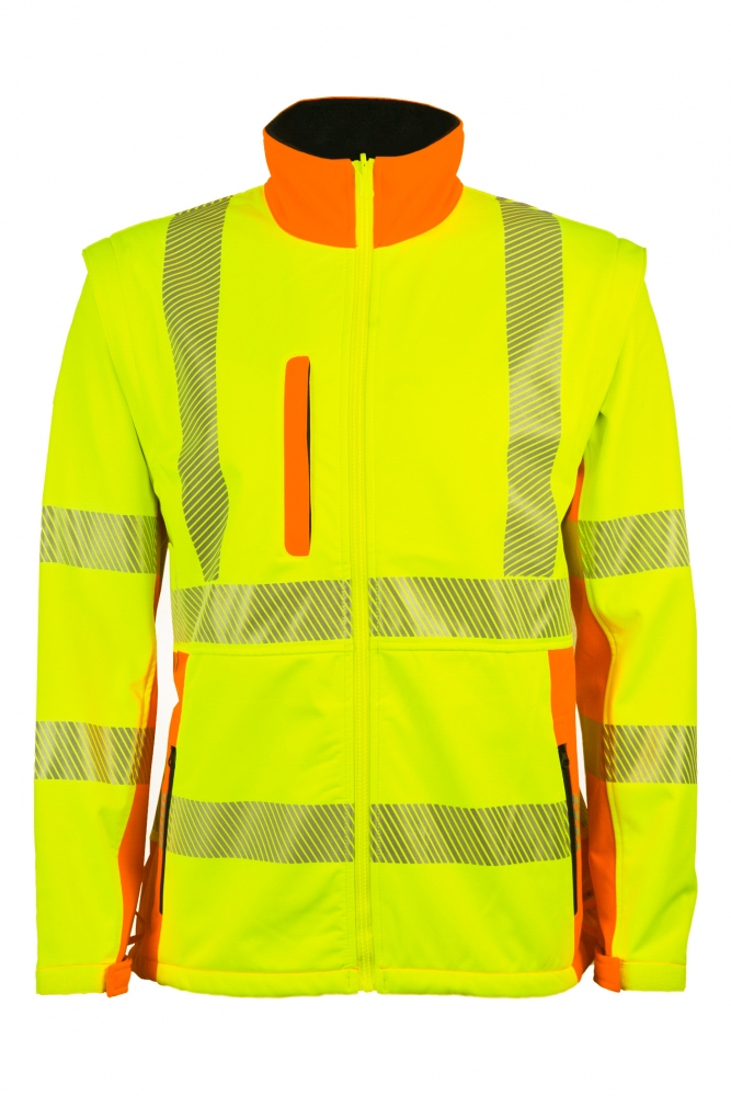 High Visibility Softshell Jackets